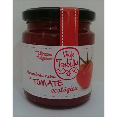 Mermelada de Tomate con Sirope de Agave 260 Gr (Valle del Taibilla)