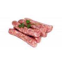 Salchichas de Cerdo Frescas Ecológicas, Pack 0,250 Kg