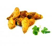 Alas de Pollo Adobadas Amarillas Ecológicas, Pack 0,5 Kg (Madrygall)