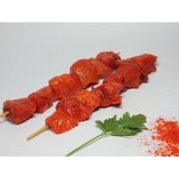 Pincho Moruno Rojo de Cerdo, Pack 0,400 Kg (Madrygall)