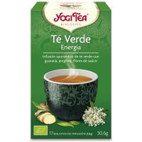 Yogi Tea Verde Energía 17 x 1,8 Gr