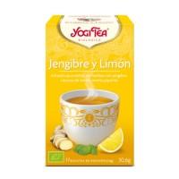 Yogi Tea Jengibre y Limón 17 x 1.8 Gr