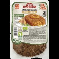 Hamburguesa de Espelta y Verduras 200 Gr (Natursoy)