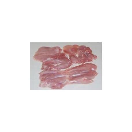 Muslo de Pollo Ecológico Fileteado, Pack 0,4 Kgs (Madrygall)