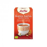 Yogi Tea Buenos Sueños Rooibos Vainilla 17 x 1.8 Gr