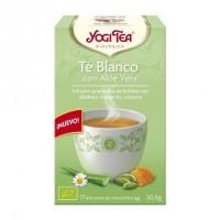 Yogi Tea Té Blanco y Aloe Vera 17 x 1.8 Gr