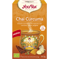 Yogi Tea Chai Cúrcuma 17 x 2 Gr