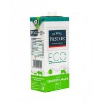 Leche Semidesnatada Ecológica, 1 L (El Buen Pastor)
