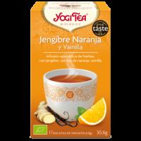 Yogi Tea Jengibre, Naranja y Vainilla 17 x 1.8 Gr