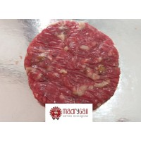 Hamburguesas de Ternera con Setas Asturiana Ecológica, Pack 2 x 100 Gr