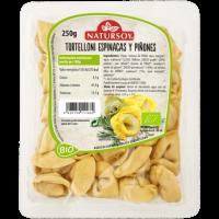 Tortelloni Espinacas y Piñones 250 Gr (Natursoy)