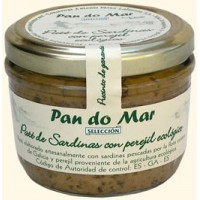 Pate de Sardina con Perejil 125 Gr (Pan do mar)