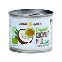 Leche de Coco Light 400 Ml (Maya Gold)