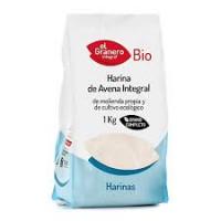 Harina de Avena Integral Bio 500 Gr (El Granero)
