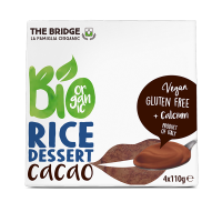 Postre de Arroz y Chocolate Pack 4 x 110 Gr (The Bridge)