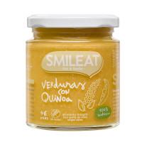 Potito de Verduras con Quinoa 230 Gr (Smileat)
