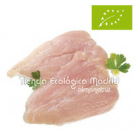 Pechuga de Pollo Ecológico Fileteada, Pack 0,5 Kg