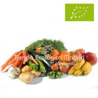 Caja de Frutas y Verduras Ecológicas (7 Kgs) + 1 LECHUGA DE REGALO
