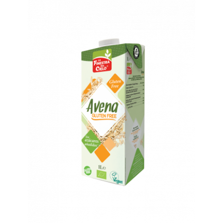 Bebida de Avena Sin Gluten 1 L (La Finestra Sul Cielo)