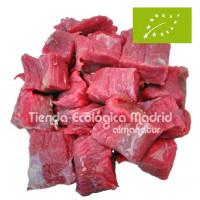 Carne de Ternera Asturiana Ecológica para Guisar, Pack 0,5 Kgs (Bioastur)