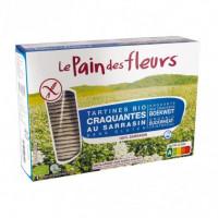 Pan de Flores de Trigo Sarraceno Sin Sal 300 Gr (Le Pain des Fleurs)