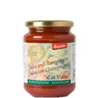 Salsa de Tomate con Champiñon 350 Gr (Cal Vall)