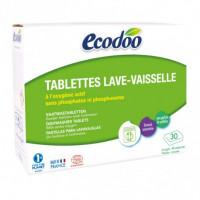 Lavavajillas en Tabletas para Máquina 30 x 20 Gr (Ecodoo)