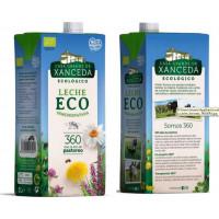 Leche Eco Semidesnatada, 1 L (Casa Grande de Xanceda)
