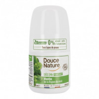 Desodorante Roll-on Menta 50 Ml (Douce Nature)