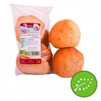 Pan de Hamburguesas de Trigo Blanco 4 Unid (El Horno de Leña)