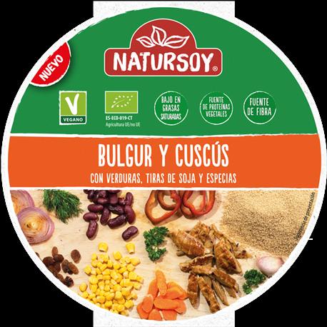 Bowl Cuscús y Bulgur 220 Gr (Natursoy)