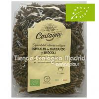 Espirales de Garbanzo y Brócoli 250 Gr (Castagno)