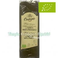 Espaguetis de Sémola de Trigo con Quinoa, Ajo y Perejil 500 Gr (Castagno)