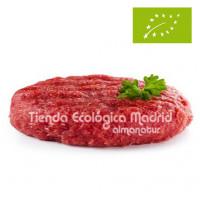 Súper Hamburguesa de Ternera Asturiana Ecológica, Unidad 200 Gr