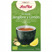 Yogi Tea Verde Jengibre y Limón 17 x 1,8 Gr