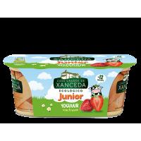 Yogur Junior sabor Fresa 2 x 125 Gr (Casa Grande de Xanceda)