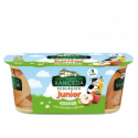 Yogur Junior sabor Manzana y Plátano 2 x 125 Gr (Casa Grande de Xanceda)