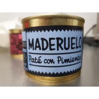 Pate a las 3 Pimientas 200 Gr (Maderuelo)
