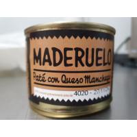 Paté con Queso Manchego 225 GR (Maderuelo)