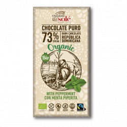 Chocolate 73 % con Menta...