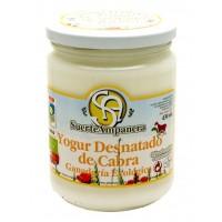 Yogur Desnatado de Cabra, 430 Ml (Suerte Ampanera)