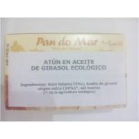 Atún en Aceite de Girasol Ecológico 120 Gr (Pan Do Mar)