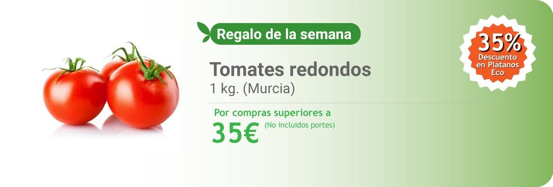 Regalo de la semana por compras superiores a 35 euros.