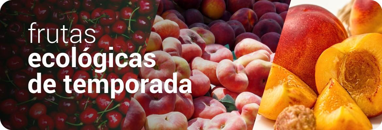 Frutas ecológicas de temporada