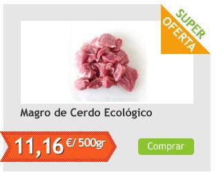 Magro de Cerdo Ecológico